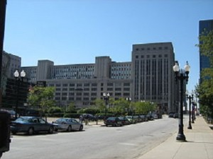 The Old Main Post Office in Chicago is currently unused (photo via Wikimedia).