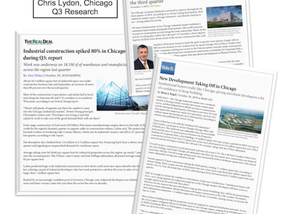 Chicago Industrial Update Q3 2018