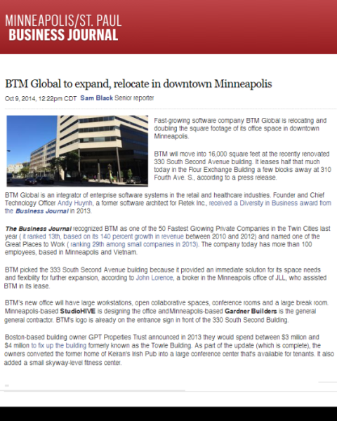 Minneapolis Business Journal/JLL