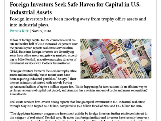 Industrial: A Safe Haven for Foreign Investors