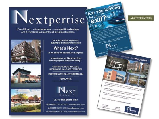 Print and Digital Ads: Next Realty