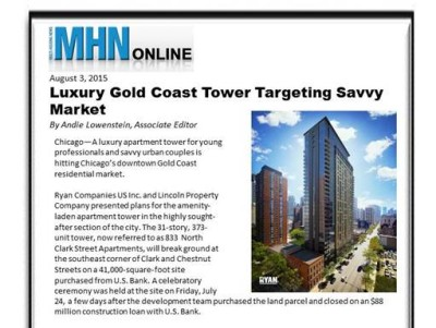 Ryan Companies–Luxury Gold Coast Tower Targets Savvy Buyer